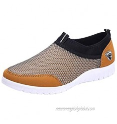 Jamron Men's Casual Slip-on Breathable Mesh Multisport Sneakers Fitness Shoes