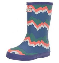 Hunter Kid's First Original Storm Stripe Rain Boots