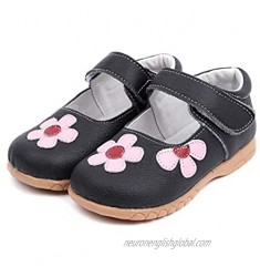 1-6 Years Girls Genuine Leather Shoes with TPR Oxford Sole for Princess' Party Shoes with Pigskin Lining Insole