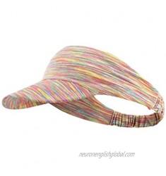 WANGYUMI Running Sports Sun Visor Headband Striped UV Protection Empty Top Baseball Hat