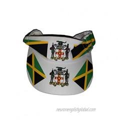 Jamaican Flag Sun Visor - Sun Visor